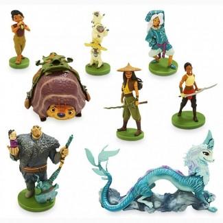 Игровой набор фигурок Рая и последний дракон Disney