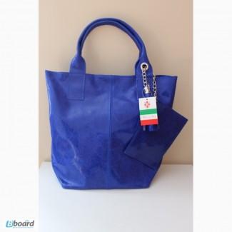 Кожаная сумка шоппер! borse in pelle! made in italy
