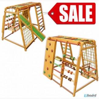 Детский игровой комплекс Малыш+ скалодром