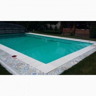 Пайка ПВХ плёнки для бассейнов, прудов, строительство бассейнов