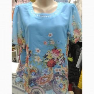 Блузка женская шифоновая.J-J-F