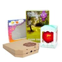 Изготовление упаковки, пакетов, нанесение логотипа.Фирменная упаковка. Любые формы размеры