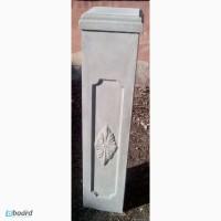 Тумба, тип 23, декор из бетона