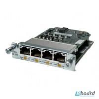 Модуль Cisco Four port 10/100 Ethernet switch interface card HWIC-4ESW