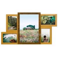 Мультирамки настенные деревянные Runoko производства Украины