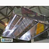 Вытяжной зонт из нержавеющей стали (нержавейки)