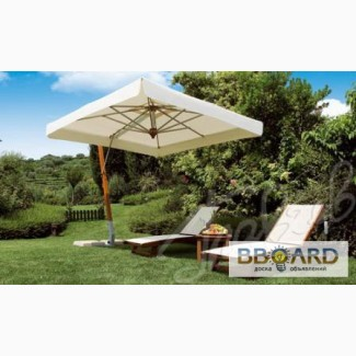 Деревянный консольный зонт XL