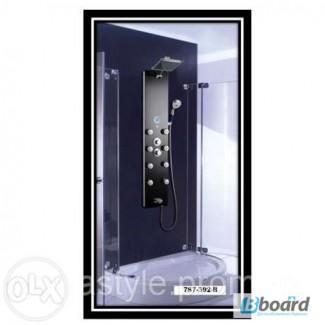 Гидромассажная панель Golston G-787392B (чёрная), 65х280х1300 мм