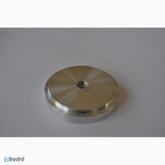 Шайба алюминиевая под клейку УФ клея D 60 мм М10