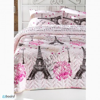 Купить красивое покрывало Eponj Home Fromparis розовое 200 220