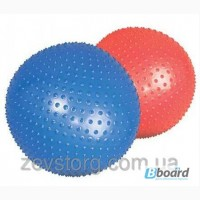 Мяч для фитнеса массажный с шипами 75 см