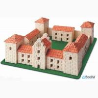 Жолковский замок конструктор из керамических кирпичиков