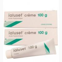 Ialuset crème ulceres (Genevrier SA, France) 100 gr / Иалусет Крем зеленый