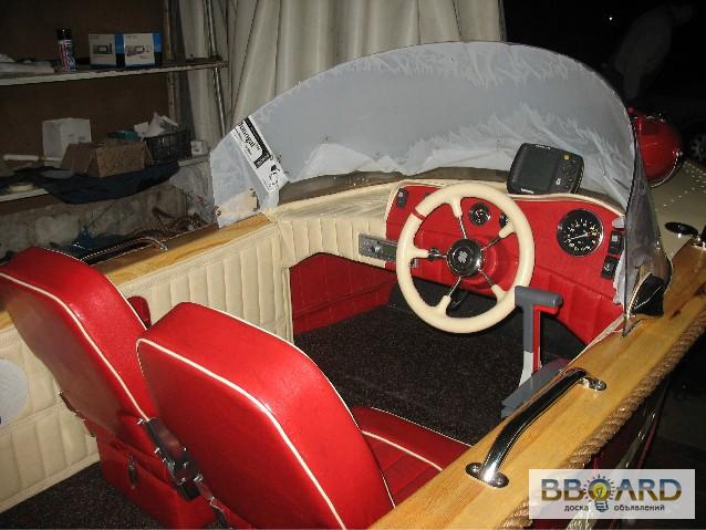 отделка салона лодки