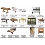 Деревянные столы и стулья, купить столы и стулья из дерева Киев