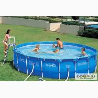 Каркасный круглый бассейн BESTWAY