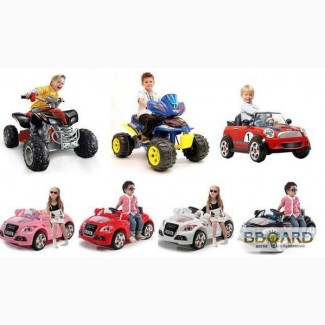 Внимание Интернет магазинам! Детские электромобили оптом от Raspashonka