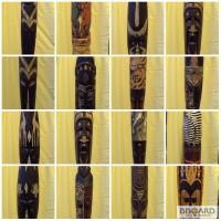 Маска декоративная деревянная