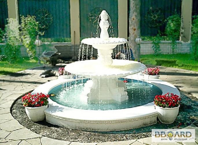 Дизайн фонтанов фото