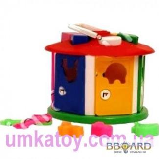 Продаем - Детская развивающая игрушка сортер - Куб Розумний малюк 2438