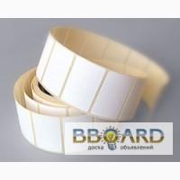 Термоэтикетки в рулонах для термотрансферного принтера