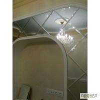 Зеркальная плитка с фацетным кантом