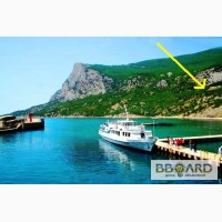 Живописный участок на ЮБК, бухта Ласпи вид на море и горы
