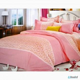 Купить постельное белье сатин, Комплект Нежный мир