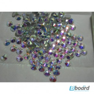 Стразы ss40 crystal AB стекло, хамелеон, 144шт. (8.2-8.3мм)
