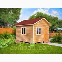 Дачный деревянный дом УЮТ-2