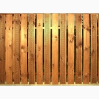 Тисненный штакетник на забор-10 грн за погонный метр