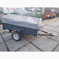 Прицеп грузовой Днепр Д-200 с дугами и тентом