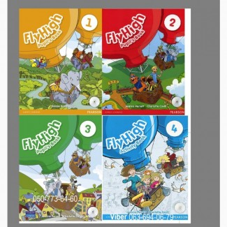 Продам Fly High 1, 2, 3, 4 Pupilsbook + workbook / Fly High НУШ
