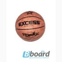 Мяч баскетбольный кожаexcess
