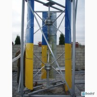 Вертикальный Ветрогенератор DPV TWIN HYBRID 2 A( 1+0+2)/3м Номинальная мощность 5 кВТ