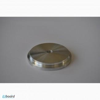 Шайба алюминиевая под клейку УФ клея D 50 мм М8
