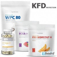 Продам хорошее спортивное питание фирмы KFD Nutrition(Протеин, бцаа, креатин)
