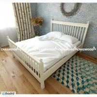 Двуспальная кровать Глория из натурального дерева
