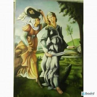 Продам копию картины художника Боттичелли