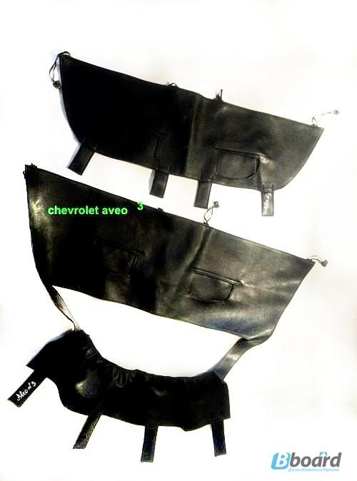 Фото 2. Утеплитель на решётку радиатора