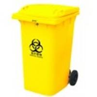 Бак для мусора пластиковый 360л., желтый. 360А-2Y