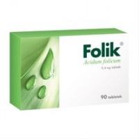 Вітаміни витамины фолик фолік Folik, 0, 4 mg