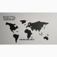 Карта мира Большая. Стикер