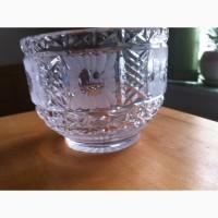 Хрустальная вазочка (круглая)