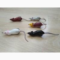 Мышка Незацепляйка на щуку с хвостиком