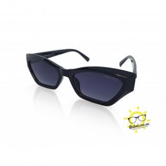 Женские солнцезащитные очки кошачий глаз MALVEL MW- 4533 BLACK