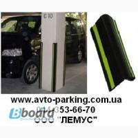 Защитные резиновые уголки и панели для парковок и складов.