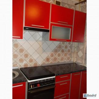 Кухни Полина Фасады ЛДСП Кроно в алюминиевом профиле