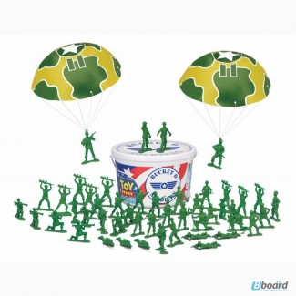 Стойкие зеленые солдатики ведро из мф История игрушек (Toy Story)