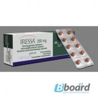 Иресса 250 мг в наличии